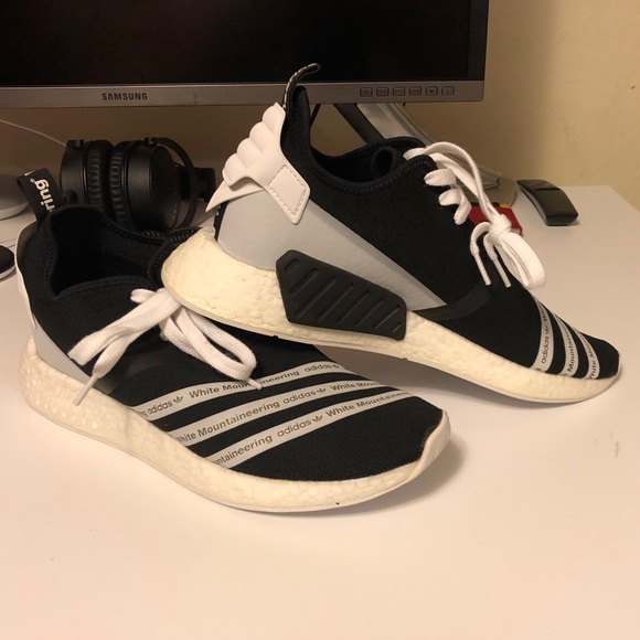 Adidas White Mountaineering x NMD R2 'Core Black'
